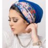 Women's Fashionable One-Piece Crepe Turban with Head-Band Ready-to-Wear Head Gear