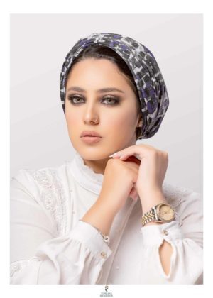 Women's Conectted Scotch Turban head Gear in Soft Cotton breathable Fabric Modest Fashion
